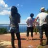 屋島山登頂!高松の街並みと瀬戸の海と空