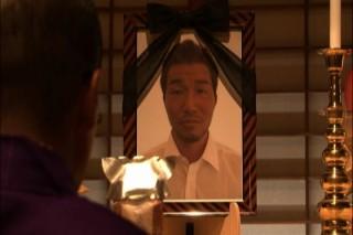 父の葬式にて