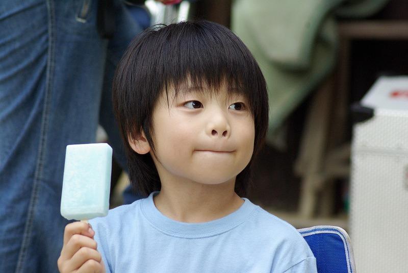 アイスクリームと少年