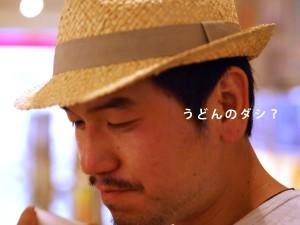 【四コマフォト】石田さんに「ウマイ!の表情下さい」と言ってみたら・・・1