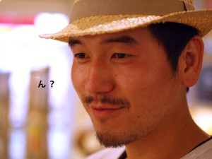 【四コマフォト】石田さんに「ウマイ!の表情下さい」と言ってみたら・・・3