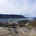源平合戦の地『屋島』と瀬戸内の海と空。眼下には大丁場。