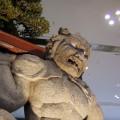 天松鬼さん。同じ香川の名産である盆栽とのコラボ