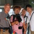 島本さんと記念撮影