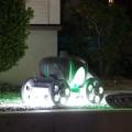 カボチャの馬車。ライティングがキレイでした